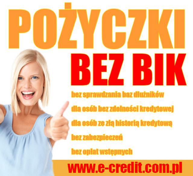 pożyczki dla osób bez zdolności kredytowej